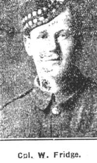 Fridge William, Corp, Tain