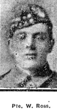 Ross William, Pte, Tain