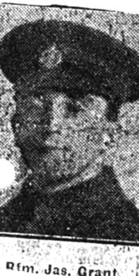 Grant James, Rifleman, Tain
