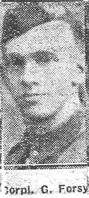 Forsyth George, Corp, Tore
