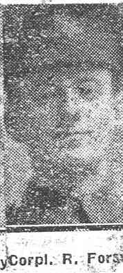 Forsyth Rowallan, Corp, Tore