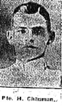 Chapman Horace J, Pte, Tore