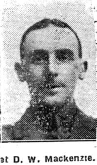 Mackenzie D W, Corp, Torridon
