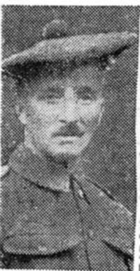 Macdonald John, Pte, Torridon