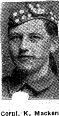 Mackenzie Kenneth, Corp, Ullapool