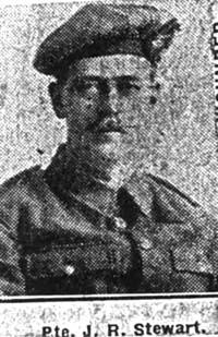 Stewart John R, Pte, Ullapool