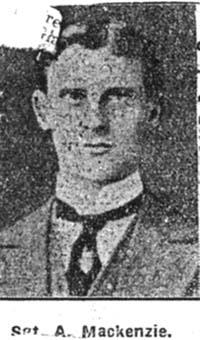 Mackenzie Alexander, Sgt, Ullapool