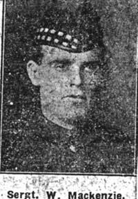 Mackenzie William, Sgt, Ullapool