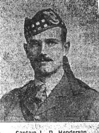 Henderson L D, Capt, Bedfordshire Seaforths