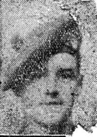 Mackenzie Duncan, L Corp, Inverness brother of Sgt Evan Mackenzie both Seaforths