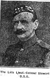Stewart Algernon Bingham Anstruther, Lieut Colonel, South Kensington Seaforths