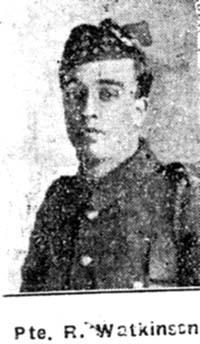 Watkinson Robert, Pte, Manchester Seaforths