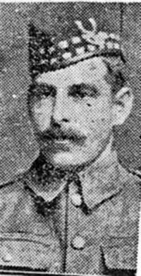 Ross Thomas, Pte, Ardgay Seaforths