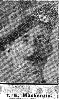 Mackenzie Evan, Sgt, Inverness Seaforths