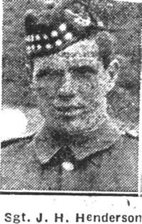 Henderson John Harry, Sgt, Leeds Seaforths