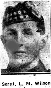 Wilson Lionel M, Sgt, London Seaforths