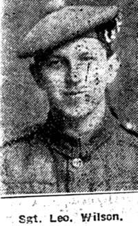 Wilson Lionel, Sgt, London Seaforths
