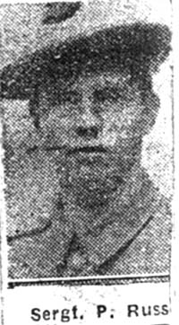 Russell Peter, Sgt, Glasgow Seaforths