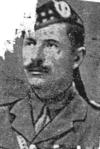 Macleod David, Major, Lewis Gordon Highlanders ex Seaforths