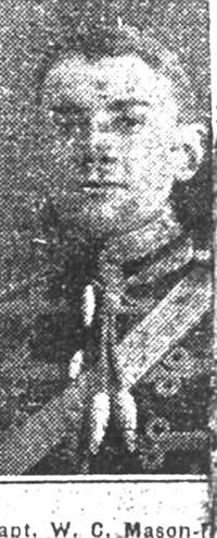 Mason-Macfarlane W C, Capt, Edinburgh