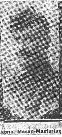 Mason-Macfarlane Quentin, Col, Edinburgh