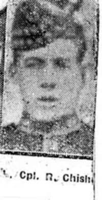 Chisholm Roderick, L Corp, Peterhead Royal Scots