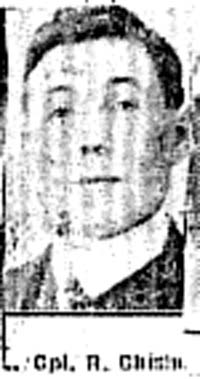 Chisholm Roderick, L Corp, South Uist Cameron Highlanders