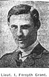 Grant Ivor Forsyth, Lieut, Kincardineshire 2nd Lovat Scouts