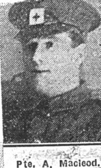 Macleod Alexander R, Pte, Ardgay