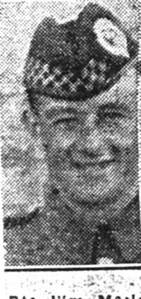 Macleod William, Pte, Ardgay