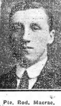 Macrae Roderick, Pte, Beauly