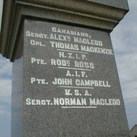 Achiltibuie War Memorial