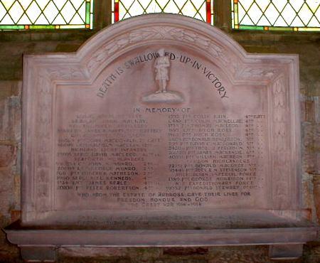 Ardross War Memorial