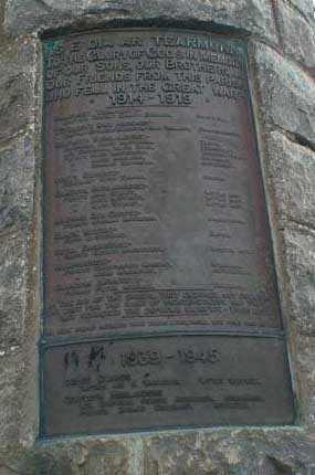 Contin War Memorial