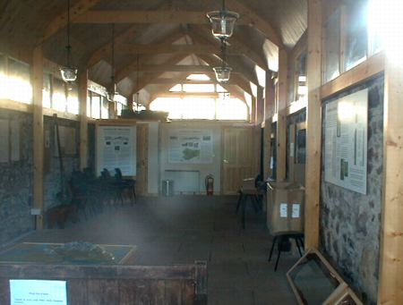 Applecross Heritage Centre interior