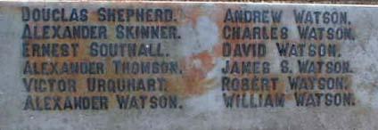 Cromarty War Memorial