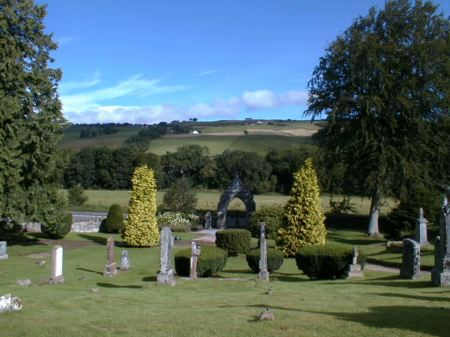 Fodderty War Memorial - Looking north to the Heights of Fodderty.
