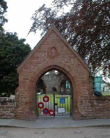 Fortrose War Memorial Gate