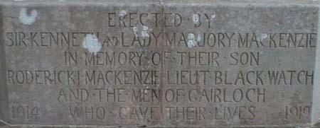 Gairloch War Memorial