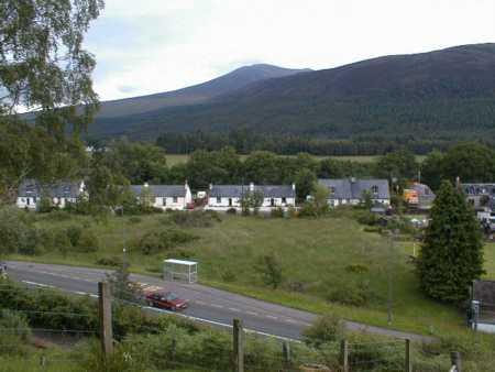 Village of Garve from War Memorial