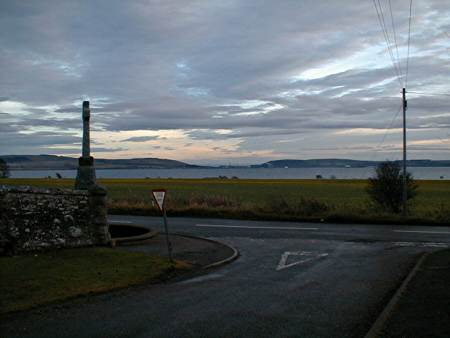 Looking south towards Nigg and the Sutors.