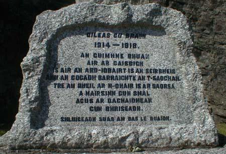 Lochcarron War Memorial