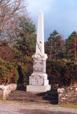Logie Easter War Memorial