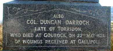 Torridon War Memorial