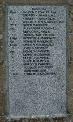Ullapool War Memorial - 1914