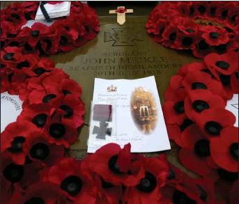 Sergeant John Meikle's Victoria Cross