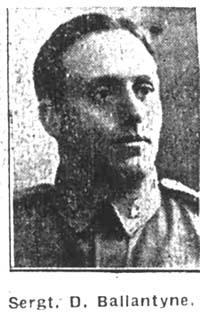 Ballantyne David, Sergeant,