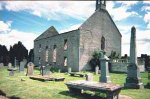 The Old Church of Kiltearn, situated beside the Cromarty Firth.