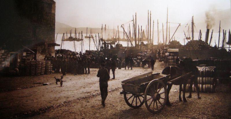 Ullapool pier in 1910