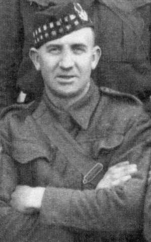 Private Alexander Cowie
